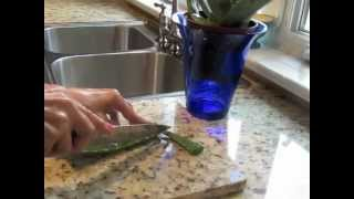 How To Use Fresh Aloe Vera for Skin Care