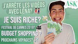 MON BUDGET SHOPPING? J'ARRETE LES VIDEOS AVEC LENA? - Ask