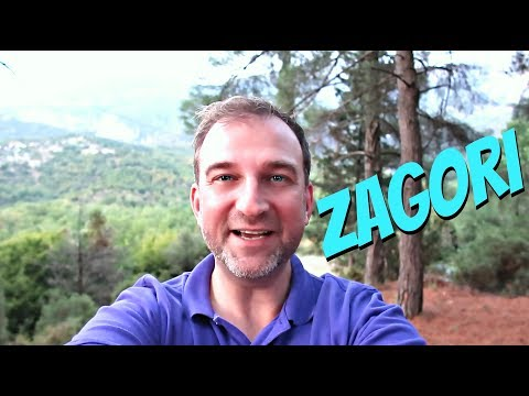 Zagori Region Greece   Picturesque Mountains and Nature