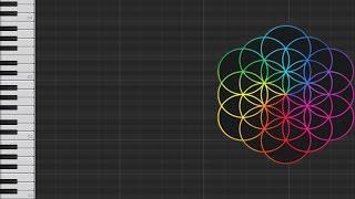 Alan Walker Vs Coldplay - Hymn For The Weekend (Piano Tutorial)