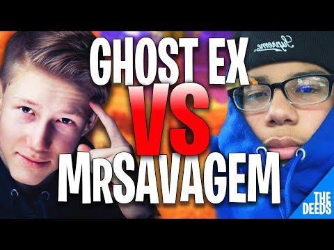 Ghost Ex 1 VS 1 NRG MrSavageM | Creative 1v1 *EPIC EU VS NA BUILD FIGHTS*