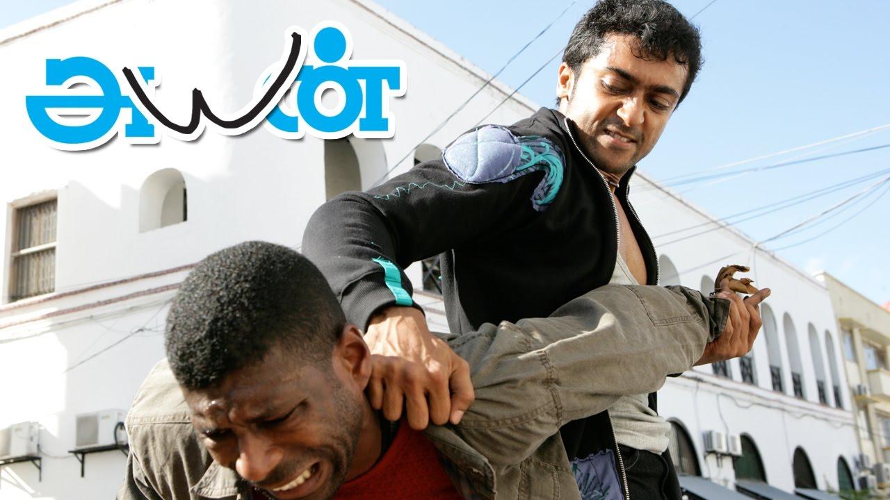 Ayan Tamil Movie Scenes  Surya  Jagan Goes To Africa To Smuggle Diamonds  Surya -9394
