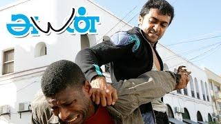 Ayan Tamil Movie scenes | Surya & Jagan goes to Africa to smuggle Diamonds | Surya Mass Fight scene
