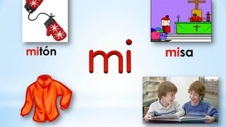 Mi Jardin Infantil: Syllables with M thumbnail
