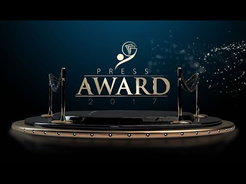 AO VIVO - Brazilian International PRESS AWARD 2017.