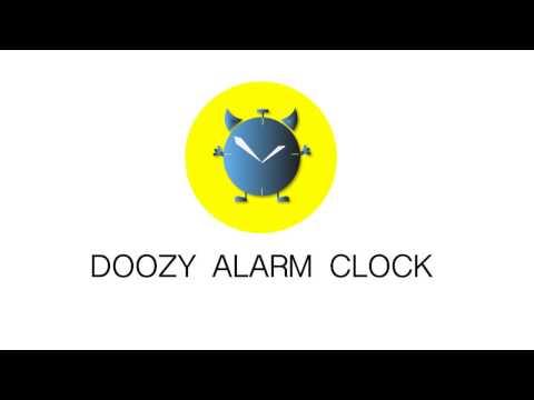Doozy alarm clock for the lazy thumb