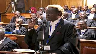Video PLO Lumumba's submission at the Supreme Court download MP3, 3GP, MP4, WEBM, AVI, FLV Januari 2018