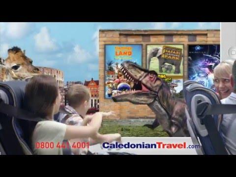 Caledonian Travel 2016 - 30 Second UK & Europe Advert