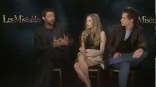 Les Misérables Facebook Chat with Hugh Jackman, Eddie Redmayne & Amanda Seyfried