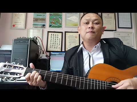 O sing my soul classical guitar performed by Daniel Leo