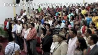 "Inauguración del Anfiteatro Municipal ""Eudes Alvarez"" en Camaguán"