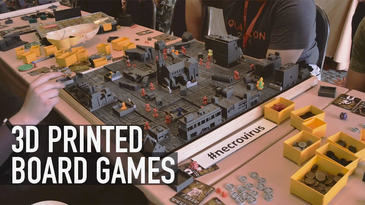 3d Print Your Own Board Game Check Out Boardcraft