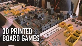 3D Print Your Own Board Game: Check Out BoardCraft & NecroVirus