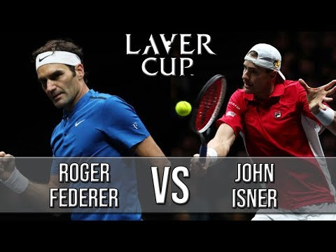 Roger Federer Vs John Isner - Laver Cup 2018 (Highlights HD)