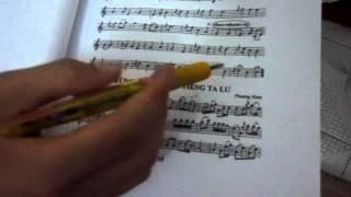 Hướng dẫn thổi sáo: Con kênh xanh xanh 2 - sáo trúc Cao Trí Minh