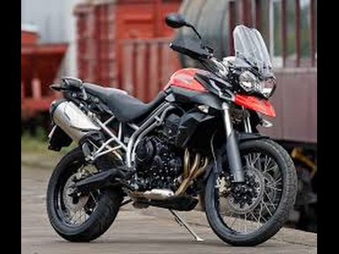 New Model 2017 Bike Triumph Tiger 800 Xrx Low Crystal White In Hindi