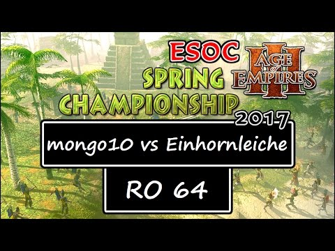 [AoE3] ESOC Spring Tournament — RO64: snowww vs jesus3 (Game 1) from YouTube · Duration:  18 minutes 47 seconds