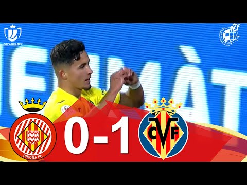 Girona Villarreal Goals And Highlights