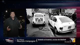 Maurizio Campagna, fratello di Andrea, ucciso da Cesare Battisti 40 anni fa, racconta il ...