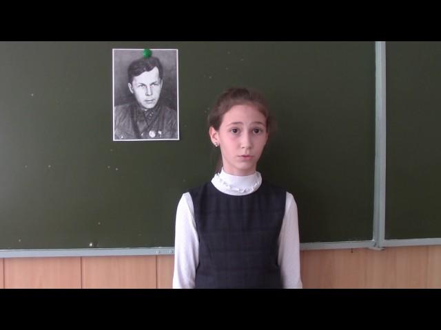 Изображение предпросмотра прочтения – МарияКорнилова читает произведение «Рассказ танкиста» А.Т.Твардовского