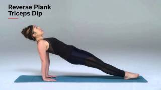 How to Do Reverse Plank Triceps Dips | Health