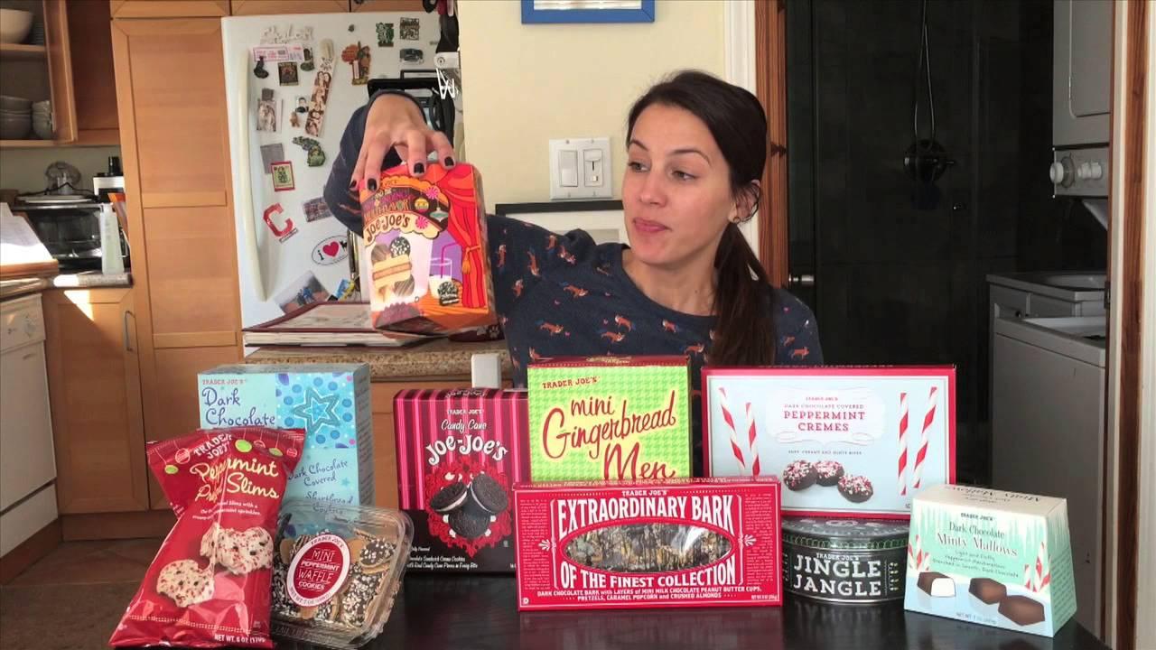 Trader Joe's Holiday Snack Haul 2014 - YouTube