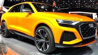 Обзор Audi Q8   Mercedes GLE и BMW X6 придется подвинуться? + новая RS5 450 сил с мотором от PORSCHE