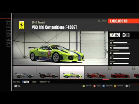 Forza Motorsport 4 All Cars (Including All DLC) HD Part 1 (676 Cars)