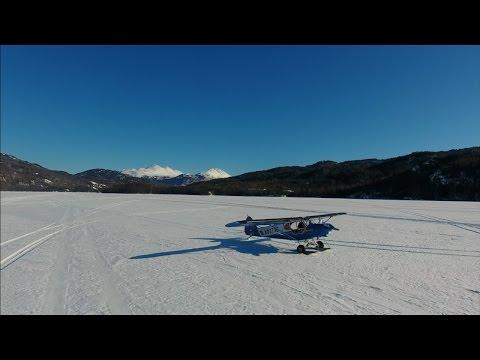 Spring Break In Alaska Ice Fishing