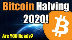 The Bitcoin Halving 2020: You MUST WATCH | MASSIVE SUPPLY SHOCK | What is the Bitcoin Halving?
