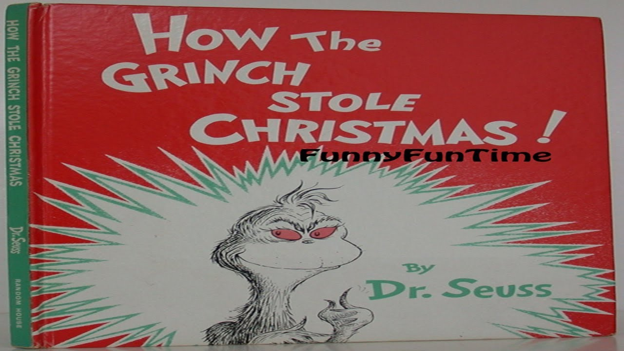 The Grinch Christmas Party.How The Grinch Who Stole Christmas Party Edition By Dr Seuss Children Books Read Aloud