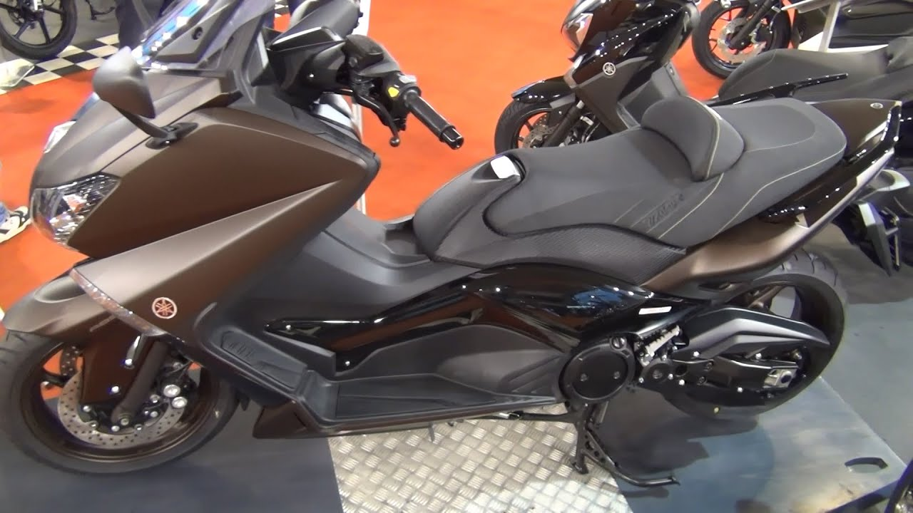Yamaha T-Max 530A Exterior And Interior In 3D 4K UHD