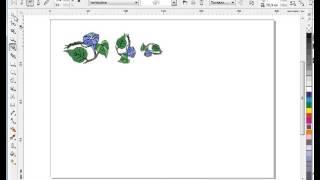 Видео уроки CorelDraw  Инструмент Кисть  Режим распылителя