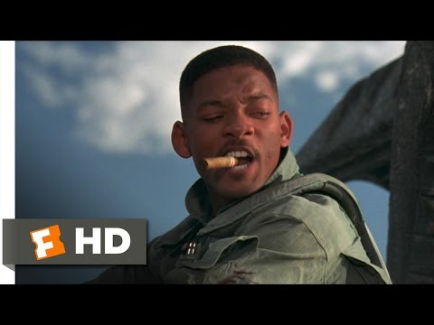 Independence Day (2/5) Movie CLIP - Close Encounter (1996) HD