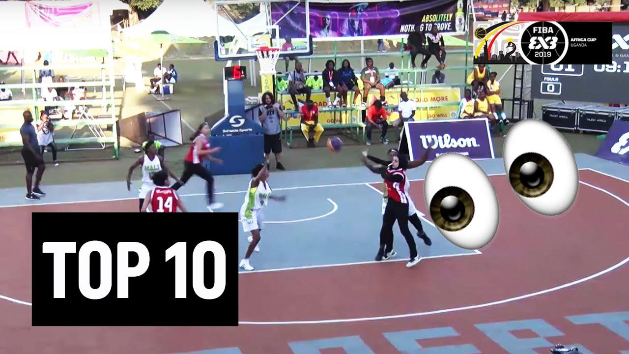 Top 10 Plays   FIBA 3x3 Africa Cup 2019