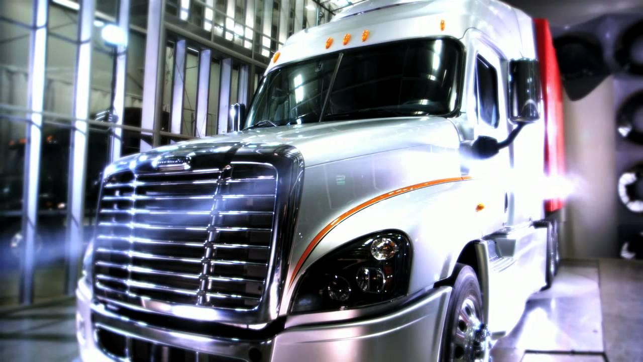 Freightliner Cascadia Evolution Aerodynamics Development