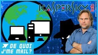 L'antivirus Kaspersky espionne t-il nos PC ? DQJMM (1/2)