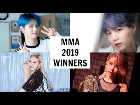 MELON MUSIC AWARDS 2019 WINNERS