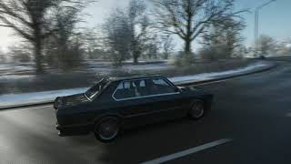 BMW M5 1988 acceleration top speed winter