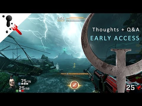 Quake Champions - Early Access - Some thoughts and Q&A