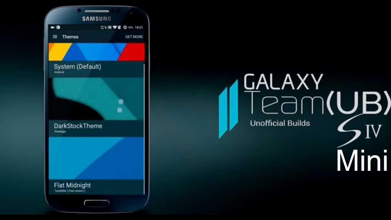 Team UB Rom 5 1 1 [Lollipop] For Galaxy S4 Mini Duos [GT-I9192]