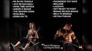 Best hindi gym songs for workout. inspirational latest songs. motivational energetic high bass and beats. the song...