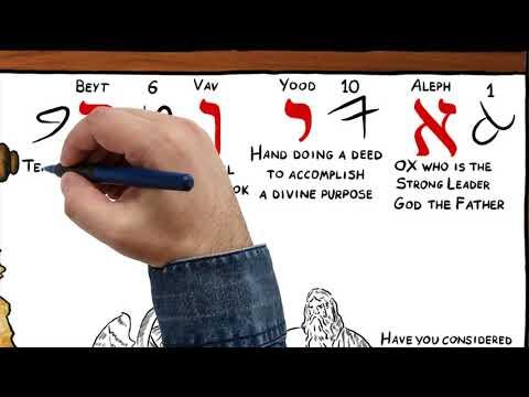"""Job"" in ancient Hebrew!"
