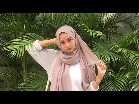 TUTORIAL HIJAB NGAMPUS TER-SIMPLE!