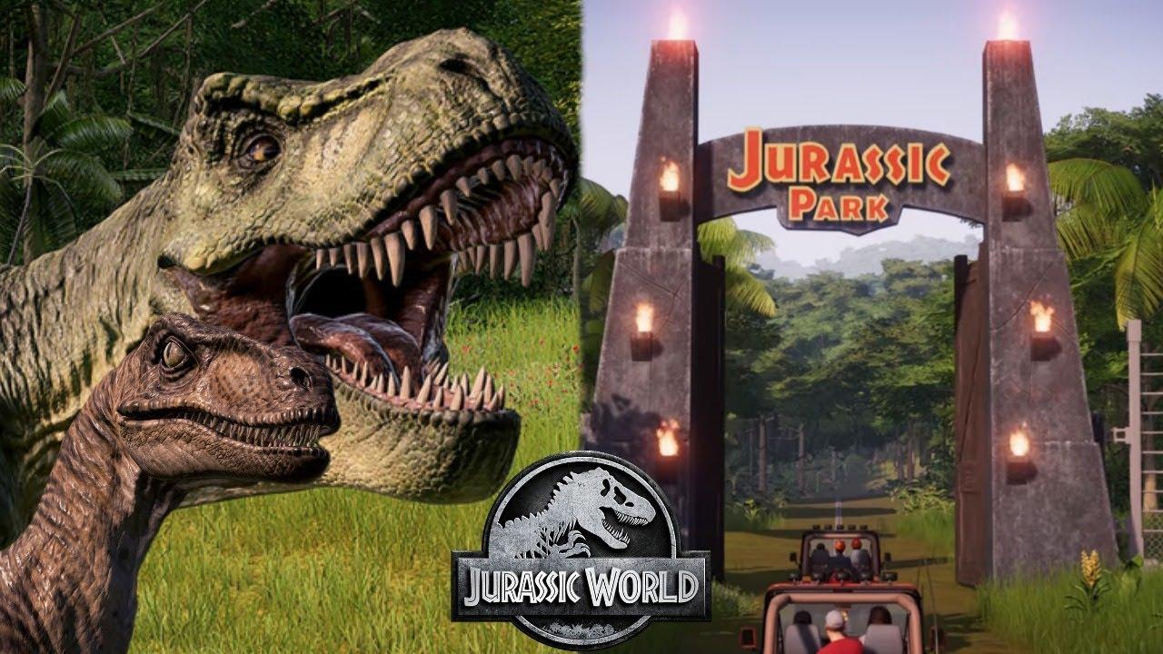New Jurassic Park 1993 Dlc Revealed For Jurassic World Evolution Return To Jurassic Park Youtube