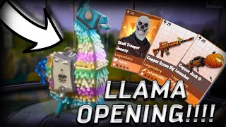 Best Birthday day Llama Opening Fortnite Save The World