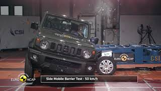 Euro NCAP Crash Test of Suzuki Jimny