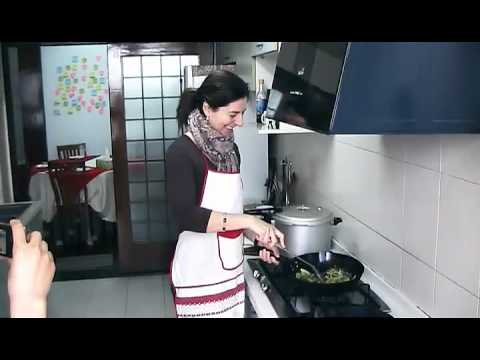Cooking Experience in Xian of Ms. Marina D'Enza