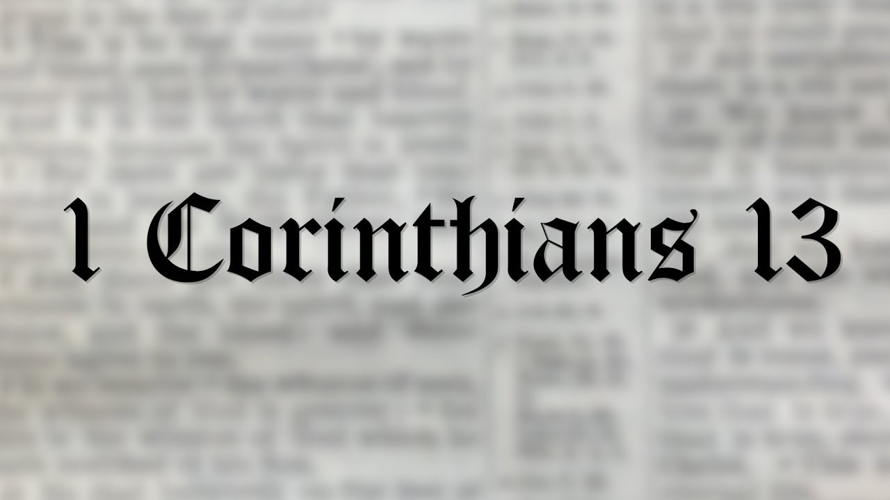 1 Corinthians 13 Wedding Reading.Stop Using This Verse At Your Wedding