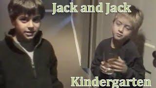 Jack & Jack in Kindergarten!
